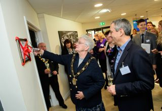 The Social Care Exchange, in Lincoln, has been officially opened by the Mayor of Lincoln, Councillor Yvonne Bodger.  Later that evening, HFHC Midlands held a recruitment event in the building in Low Moor Road, off Doddington Road.  Picture: Chris Vaughan Photography Date: November 30, 2016